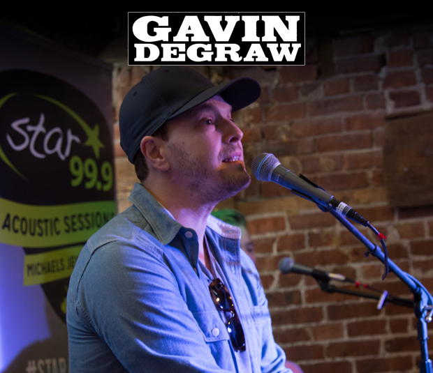 Star 99.9 Michaels Jewelers Acoustic Session: Gavin DeGraw