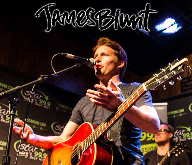 Star 99.9 Michaels Jewelers Acoustic Session: James Blunt