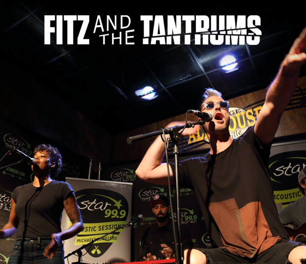 Star 99.9 Michaels Jewelers Acoustic Session: Fitz and the Tantrums