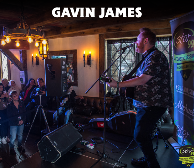 Star 99.9 Michaels Jewelers Acoustic Session with Gavin James