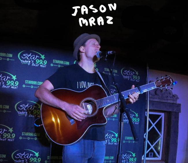 Star 99.9 Michaels Jewelers Acoustic Session: Jason Mraz