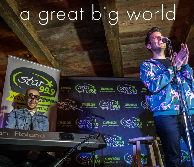 Star 99.9 Michaels Jewelers Acoustic Session: A Great Big World