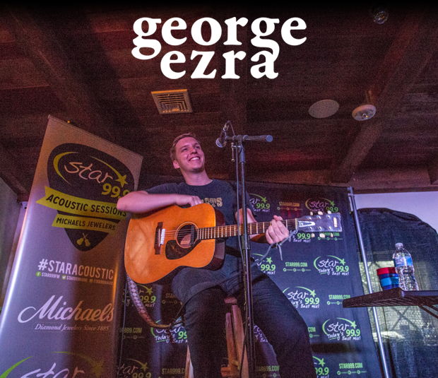 Star 99.9 Michaels Jewelers Acoustic Session with George Ezra
