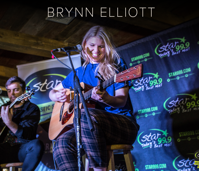 Star 99.9 Michaels Jewelers Acoustic Session with Brynn Elliott