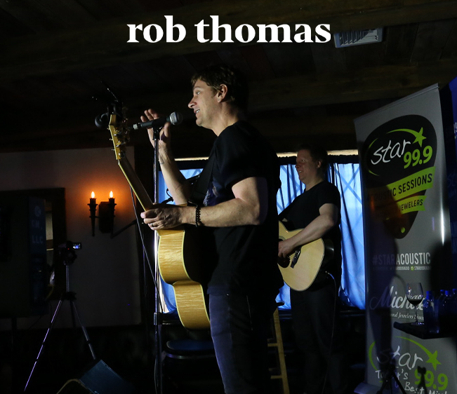 Star 99.9 Michaels Jewelers Acoustic Session with Rob Thomas