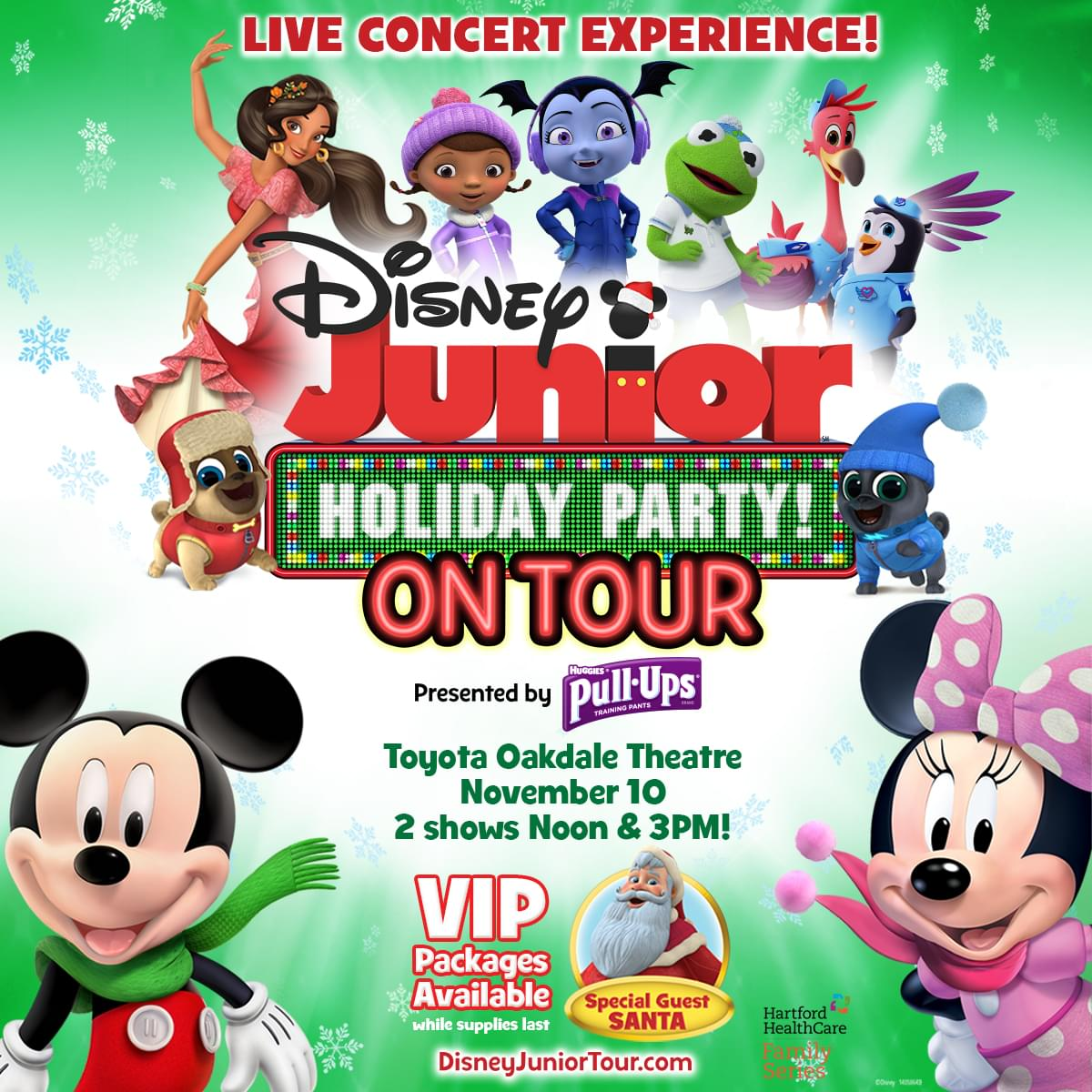 Enter to win tickets to Disney Jr Holiday Party on Tour