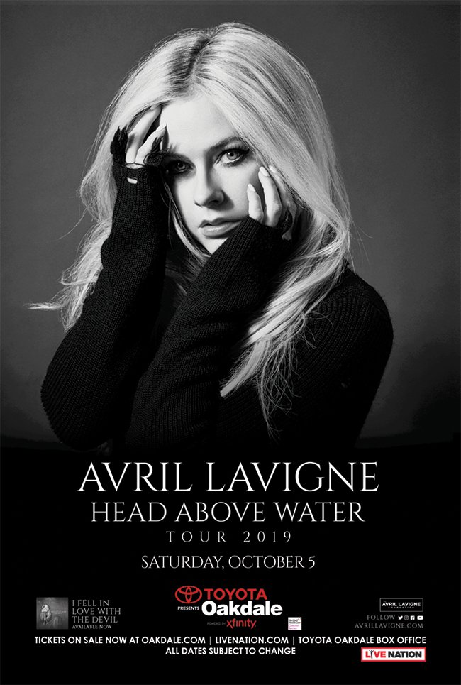 Enter to win tickets to Avril Lavigne