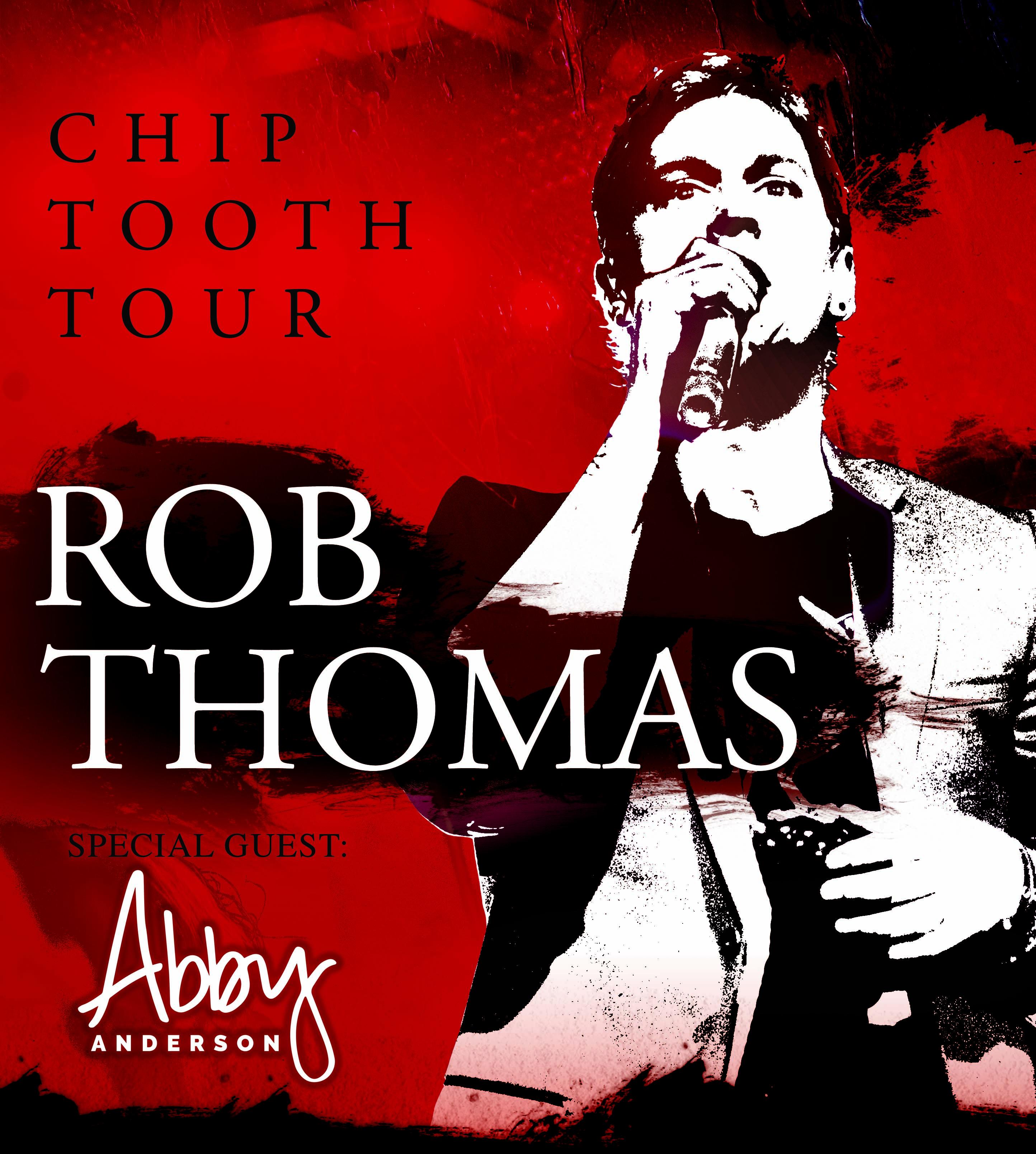 Win tickets to Rob Thomas