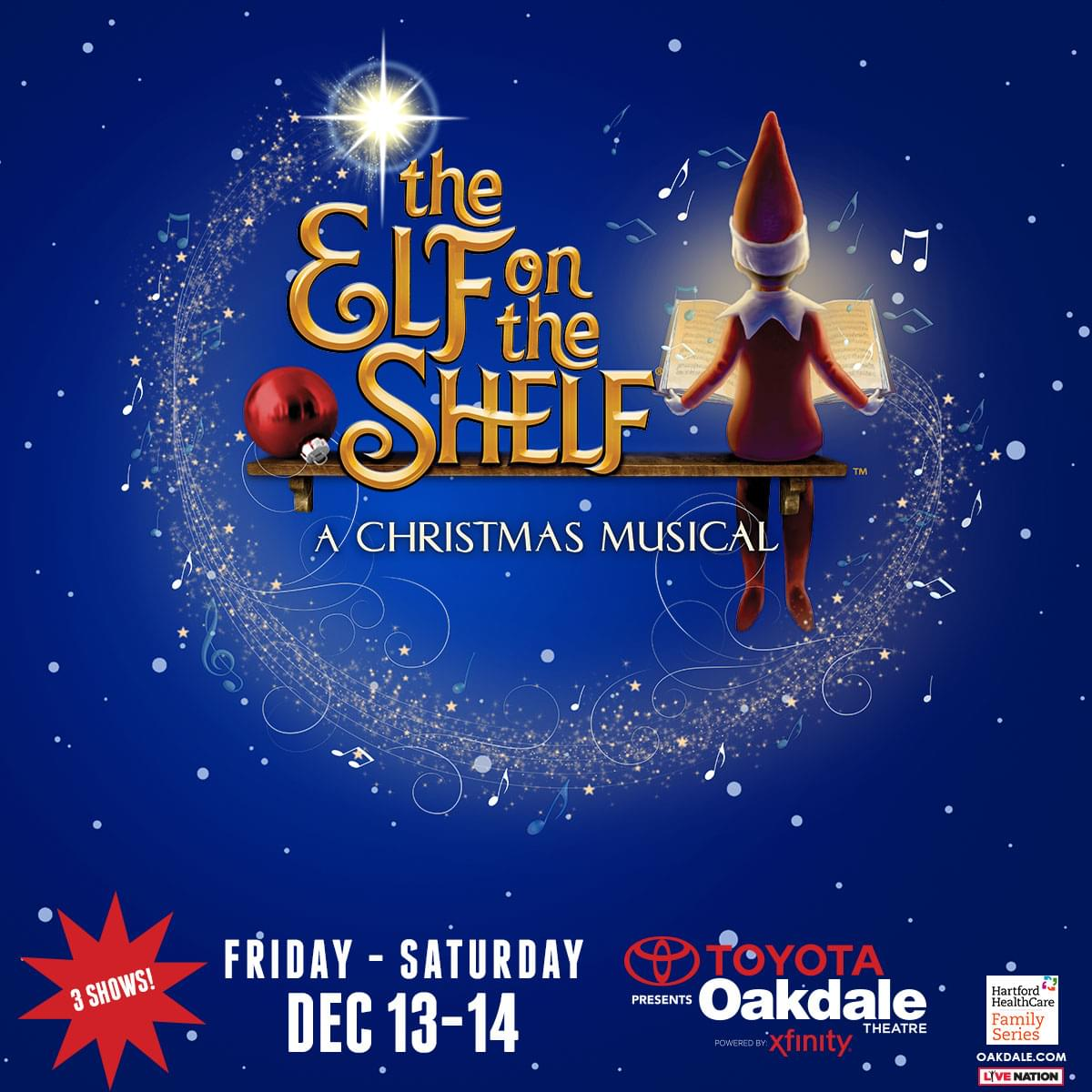 Enter to win tickets to Elf on the Shelf A Christmas Musical