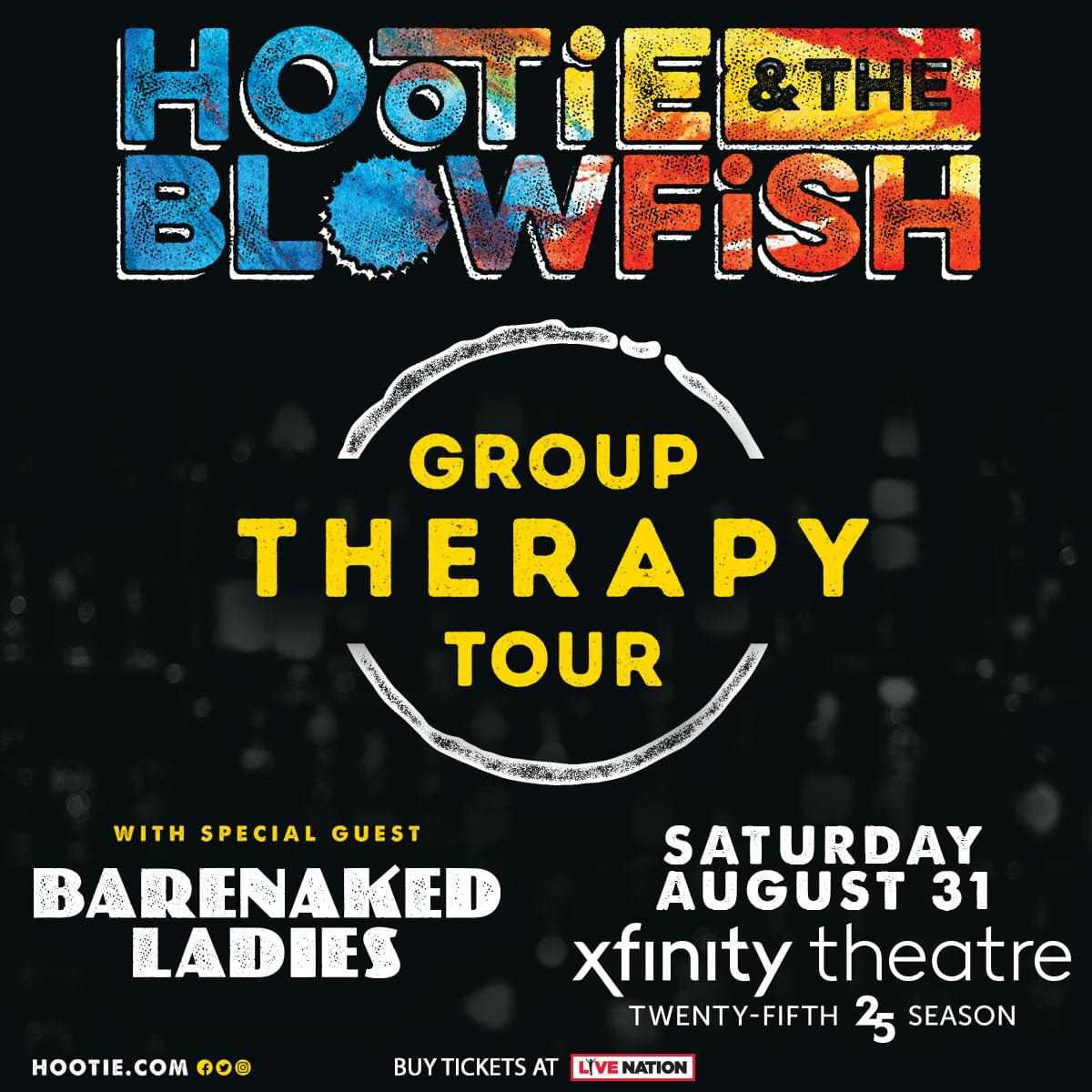 Win tickets to Hootie & The Blowfish with special guests: Barenaked Ladies