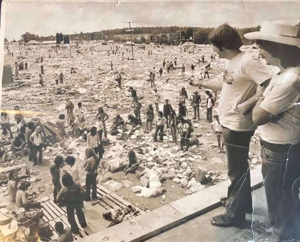 """Jimmy Koplik- Watkins Glen """"Summer Jam"""" in 1973"""