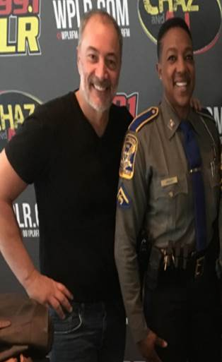 On Today's Chaz & AJ: A New AJ Parody Song, Megadeth's Dave Mustaine, CT State Troopers In Studio