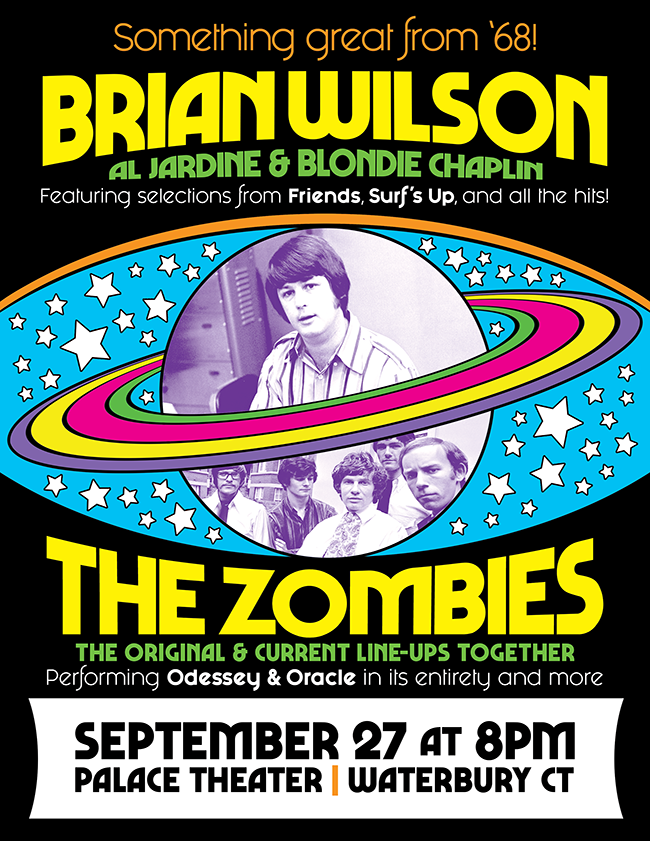 Enter to win: Brian Wilson and The Zombies