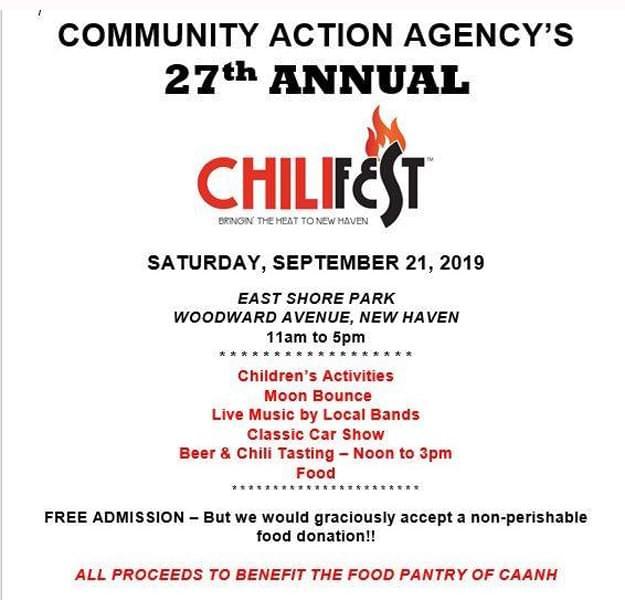 New Haven Chili Fest & Classic Car Show