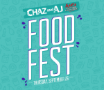 Chaz & AJ Arts Television & Appliance Food Fest