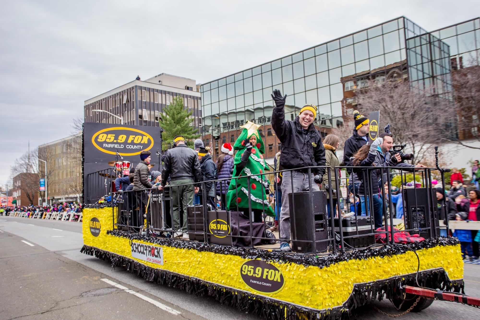 VIDEO: Stamford Downtown Parade Spectacular