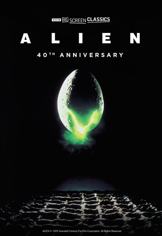 Enter to win tickets to the 40th Anniversary Screening of Alien