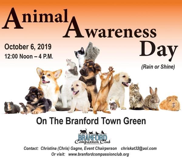Animal Awareness Day in Branford