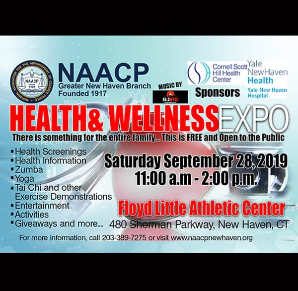The Greater New Haven NAACP's Family Wellness Expo