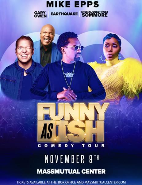 Enter to win: Funny As Ish Comedy Tour