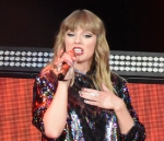 Taylor Swift attends Madonna concert in Brooklyn Saturday