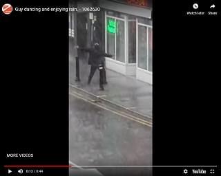 Viral Video: Guy Dances In The Rain