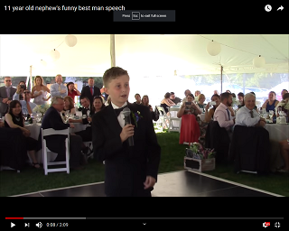 Viral Video of the Day: What Happens When An 11-Year-Old Nephew Is The Best Man