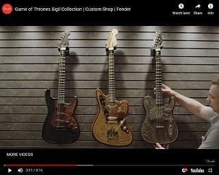 "Tom Morello & More Rockers Shred ""Game Of Thrones"" Guitars"