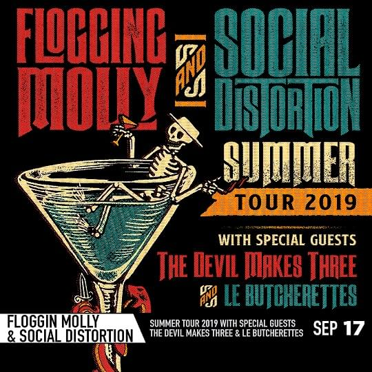 Flogging Molly & Social Distortion