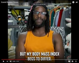"Viral Video: Welcome To ""Scared Sh*tless Fitness"""