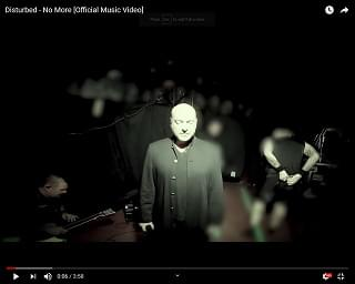 """Disturbed Unleash """"No More"""" Video and Announce Live EP"""
