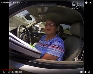 Viral Video of the Day: Here's How Nana Got A Felony