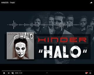 "New Music from Hinder – ""Halo"""