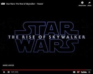 "New ""Star Wars"" Trailer Drops at D23"