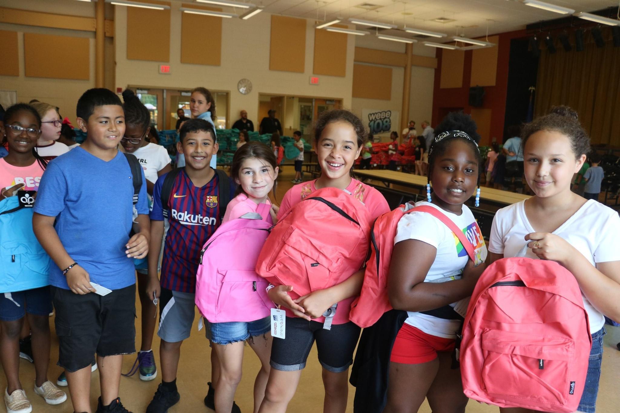 WEBE108 Backpack Giveback