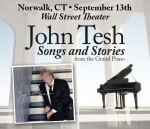 Win tickets to John Tesh Songs and Stories from the Grand Piano