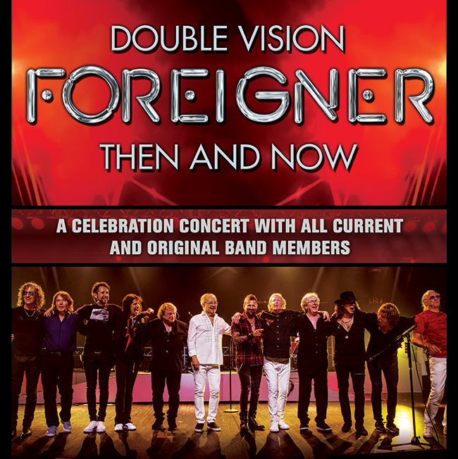 Win tickets to Foreigner