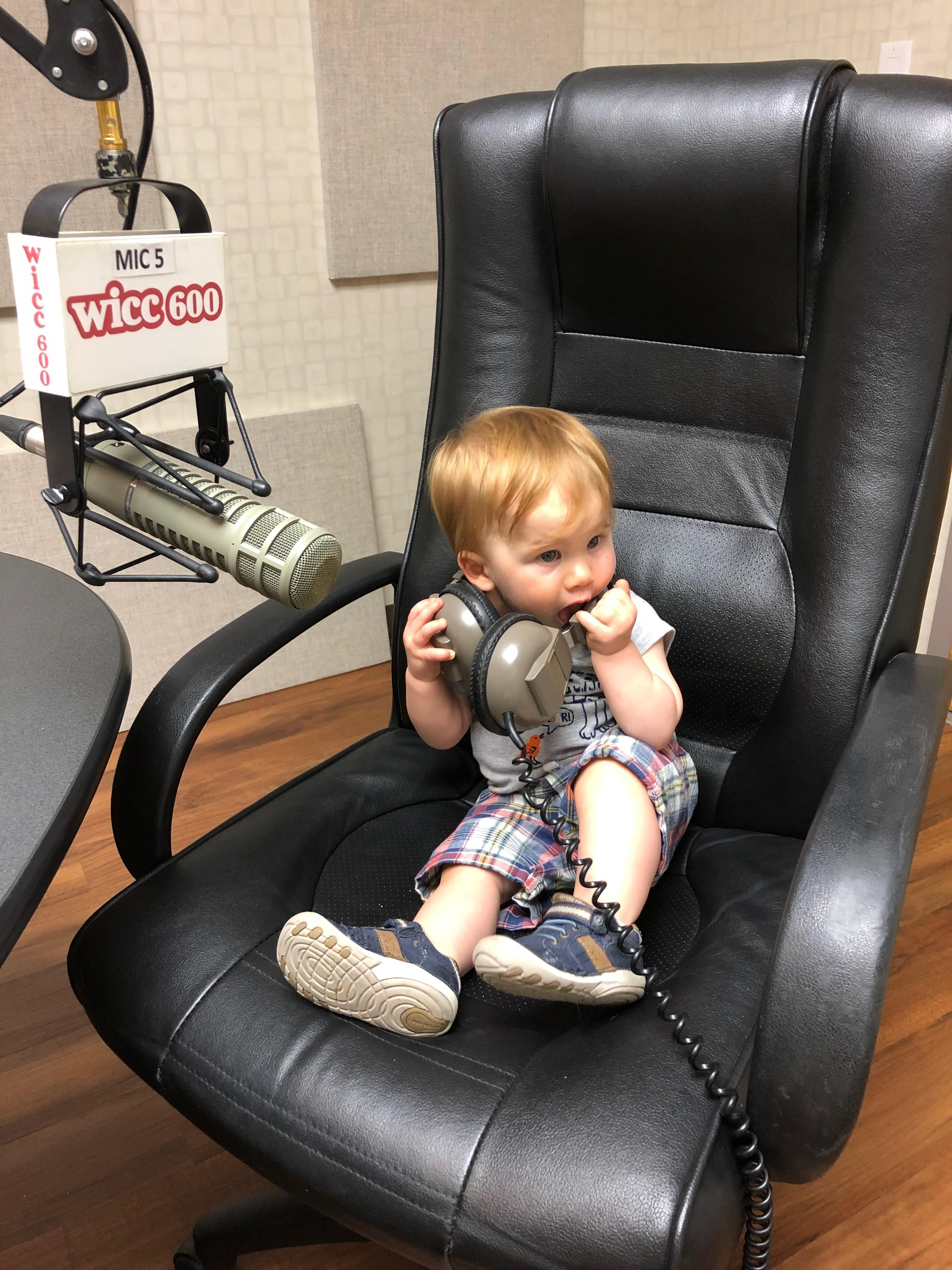Connecticut Today with Paul Pacelli: The Kid's First Day in Radio