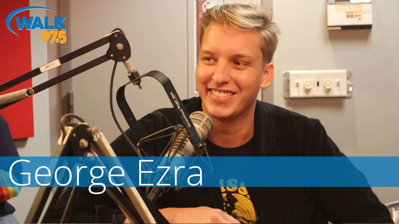 "George Ezra Performs ""Shotgun"" in the WALK Studio!"