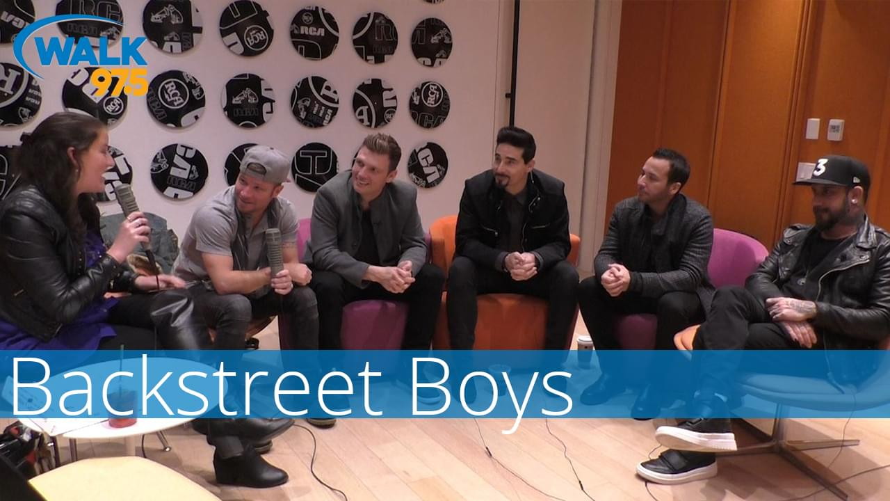 The Backstreet Boys chat with Christina Kay!