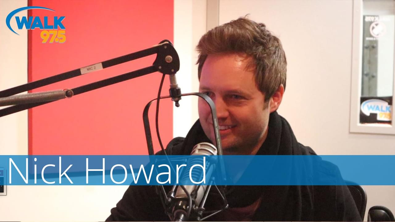 Nick Howard chats with Tommy in Studio!