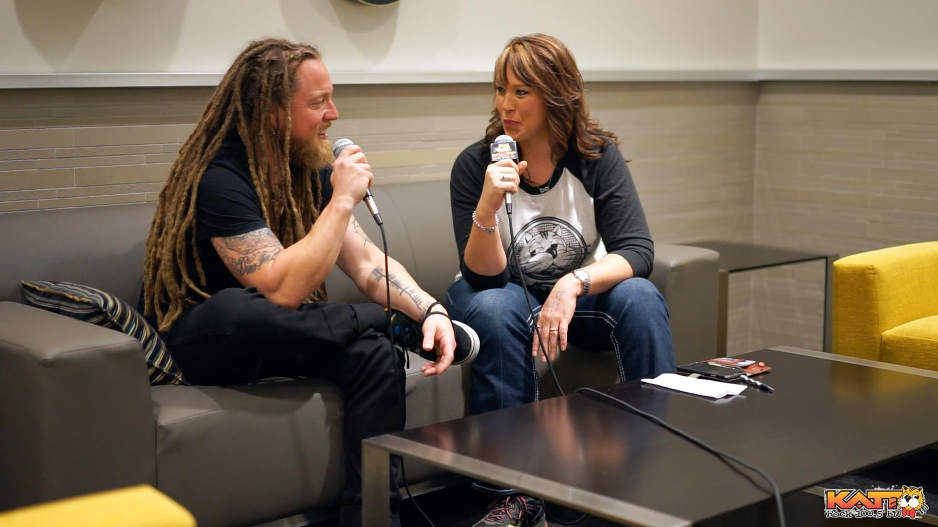 Allison Chainz Interviews Shinedown's Barry Kerch
