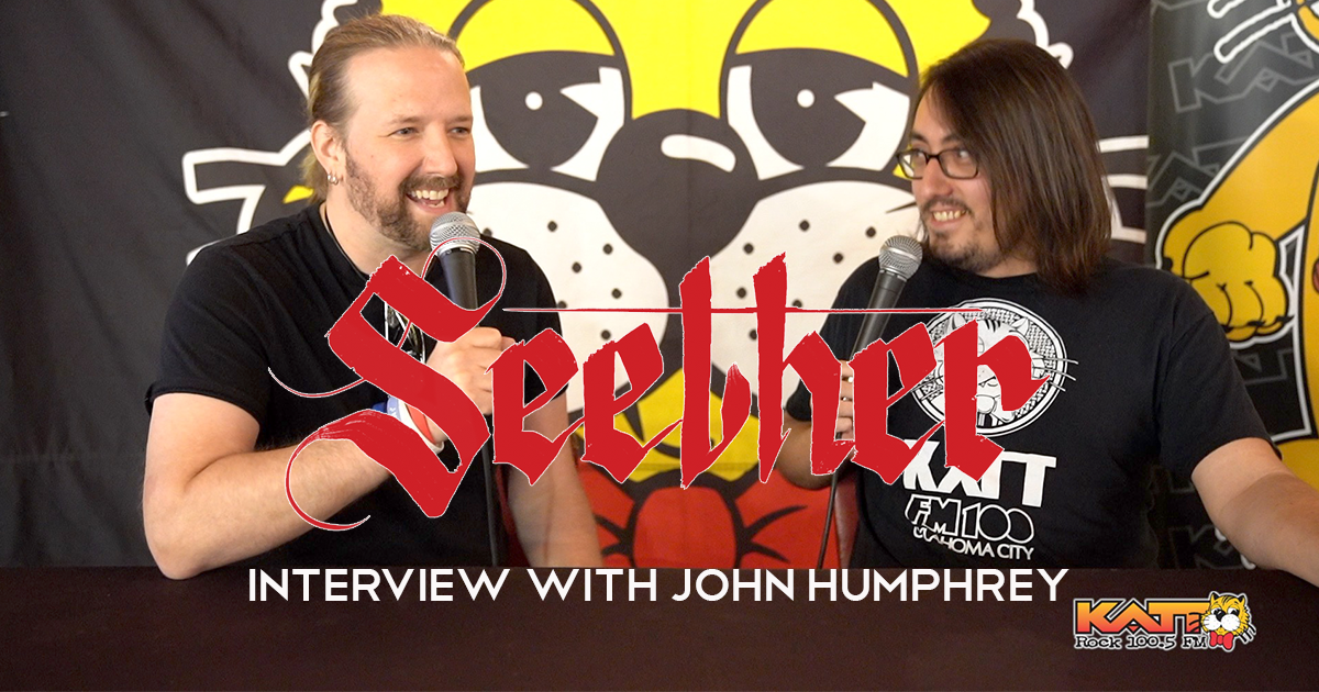 Seether Drummer John Humphrey Interview