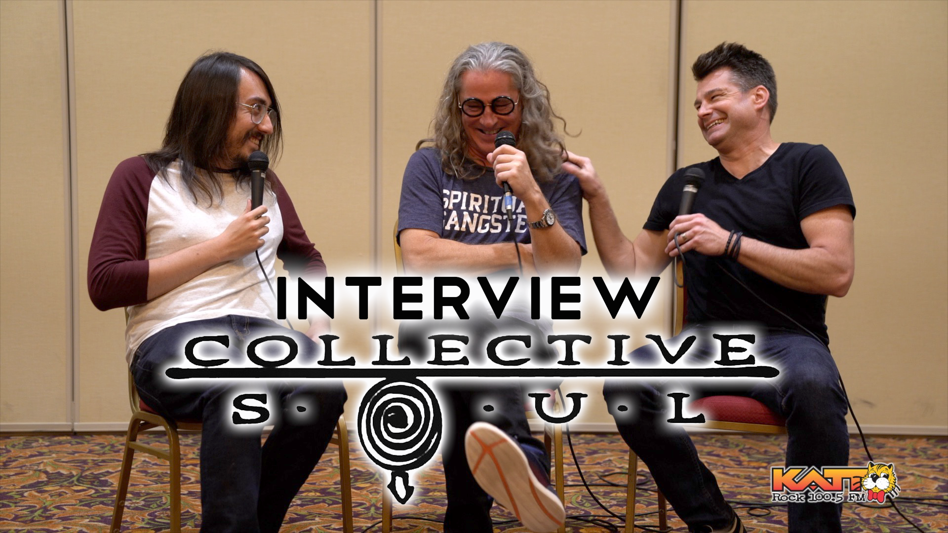 """[VIDEO] Cameron Talks to """"E"""" and Johnny from Collective Soul"""