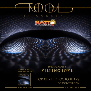Just Announced: TOOL @ BOK Center | 10/29