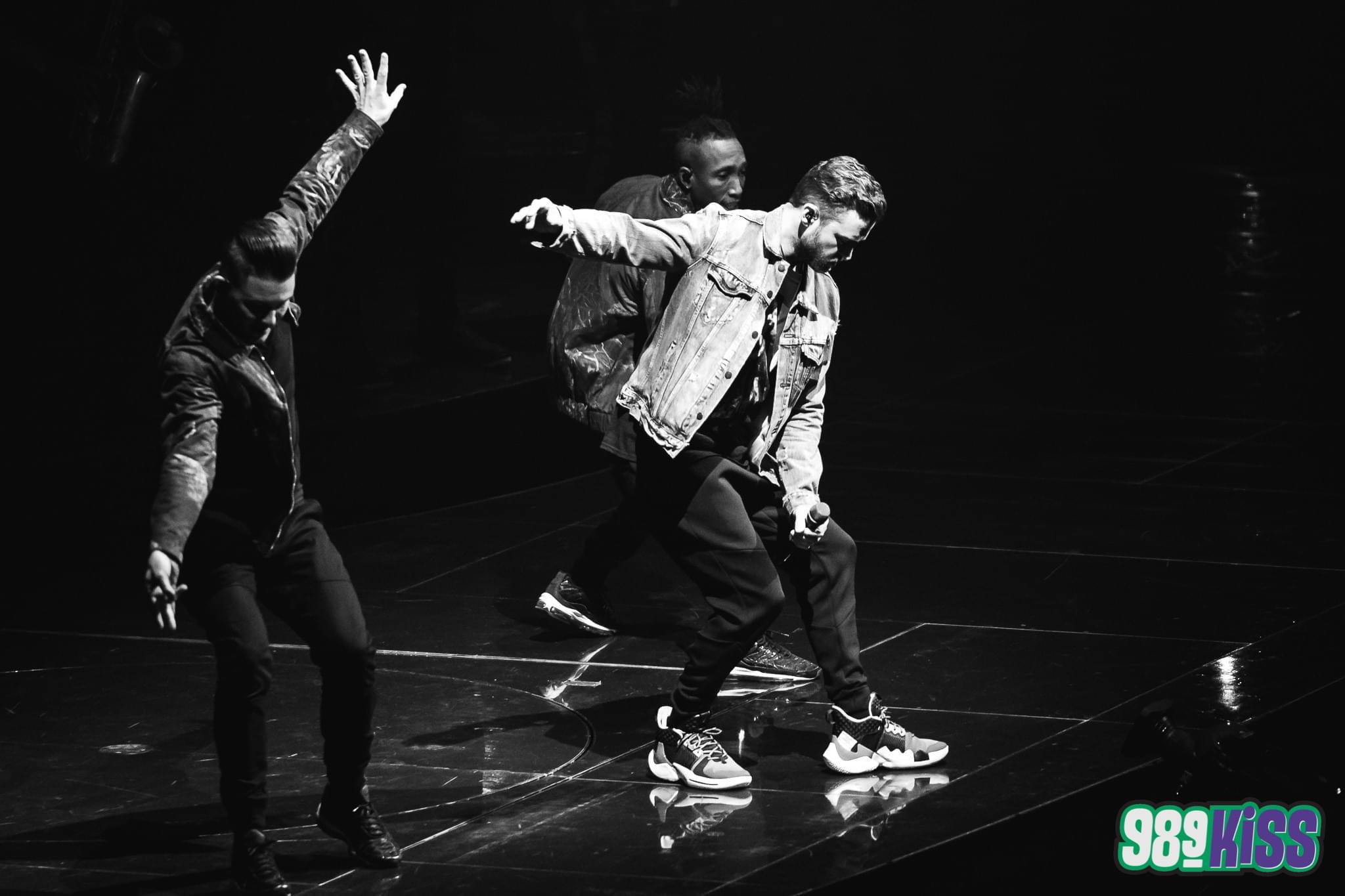 [PHOTOS] Justin Timberlake at the 'Peake!