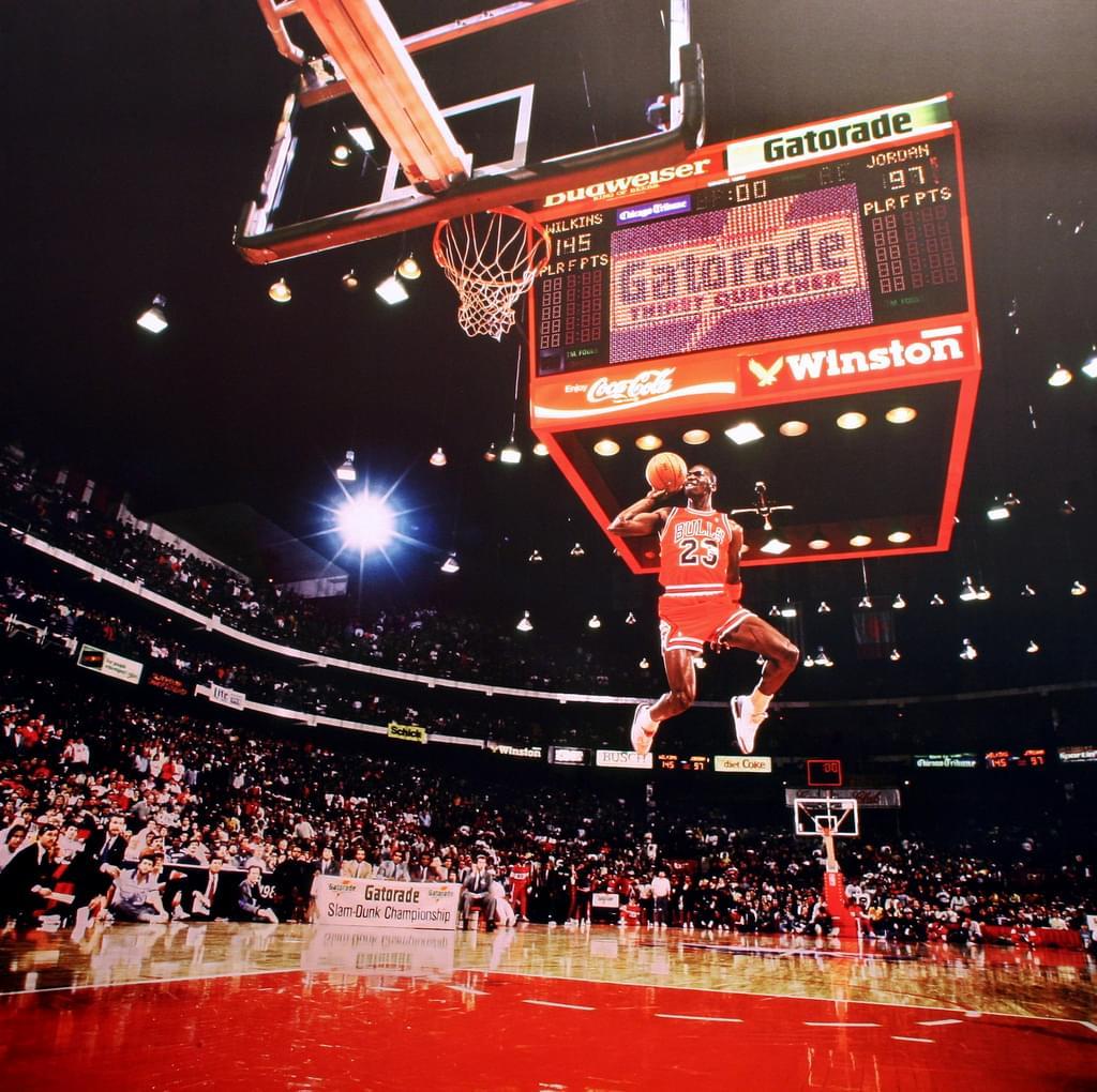 Comparando a LeBron James con Michael Jordan.