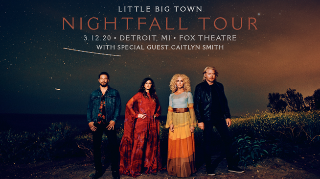 Little Big Town – March 12