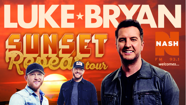 Six Chances per Weekday to WIN Luke Bryan Tickets!