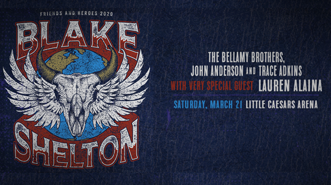 Blake Shelton's Friends and Heroes Tour- March 21